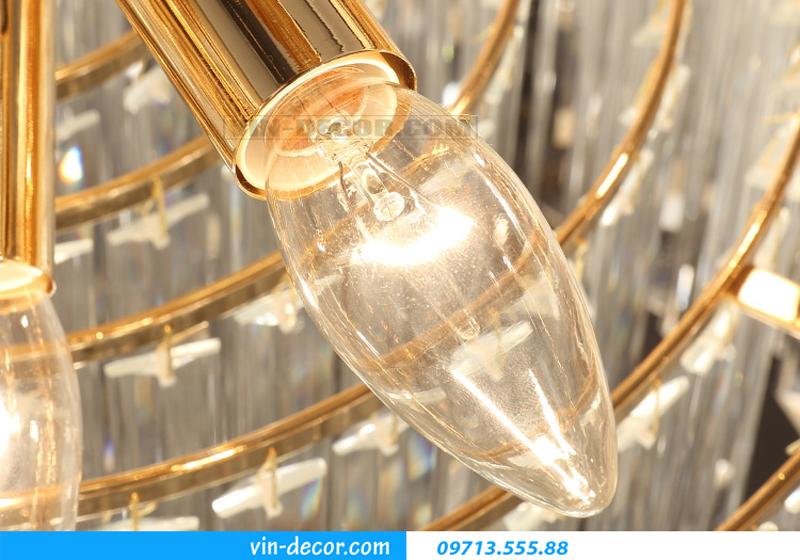 đèn chùm nghệ thuật phòng khách MD 005 07