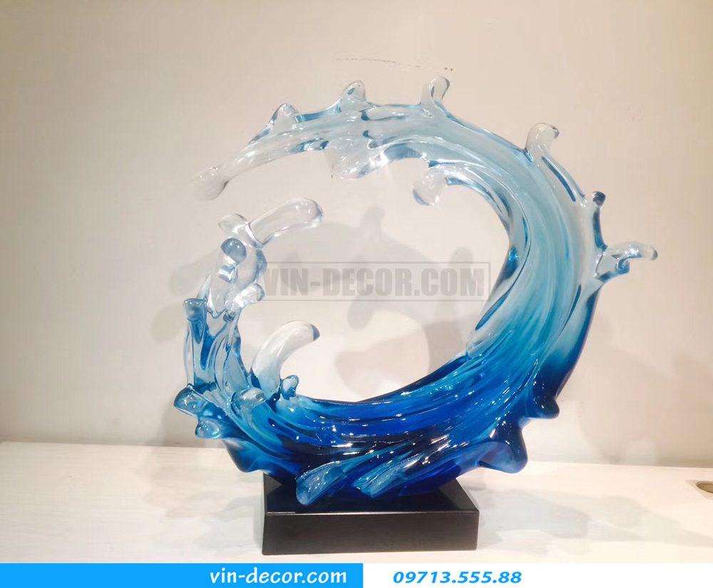 đồ trang trí cao cấp hình sóng biển bh 06