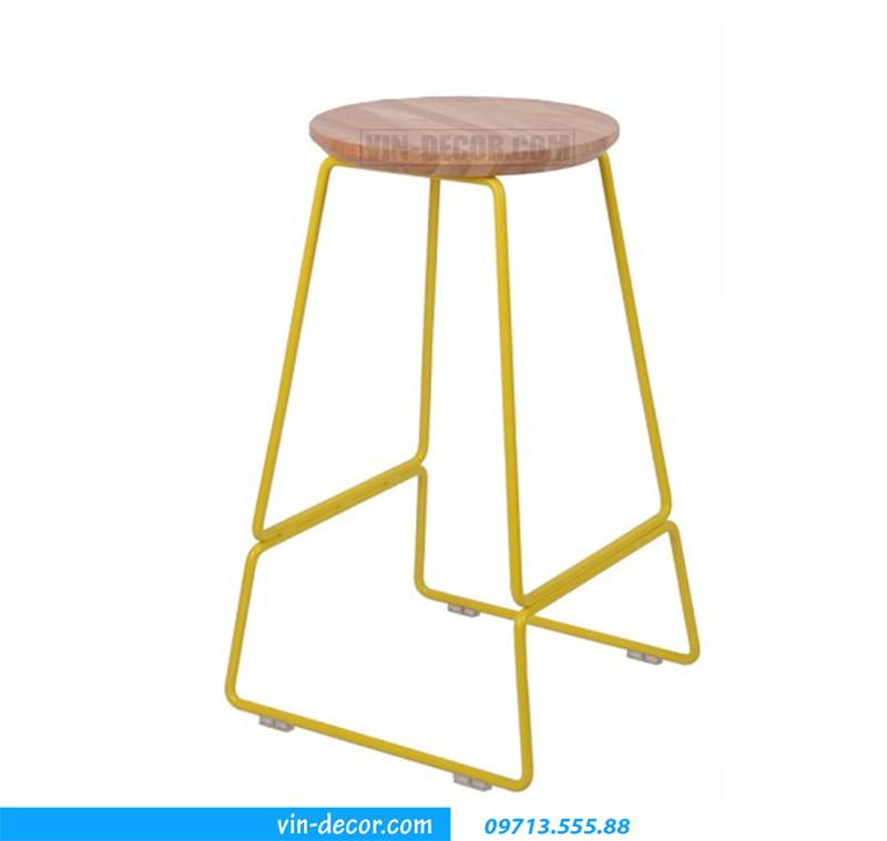 ghế cafe mặt gỗ gb 007 (1)
