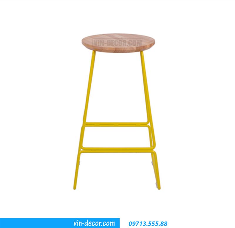 ghế cafe mặt gỗ gb 007 (3)