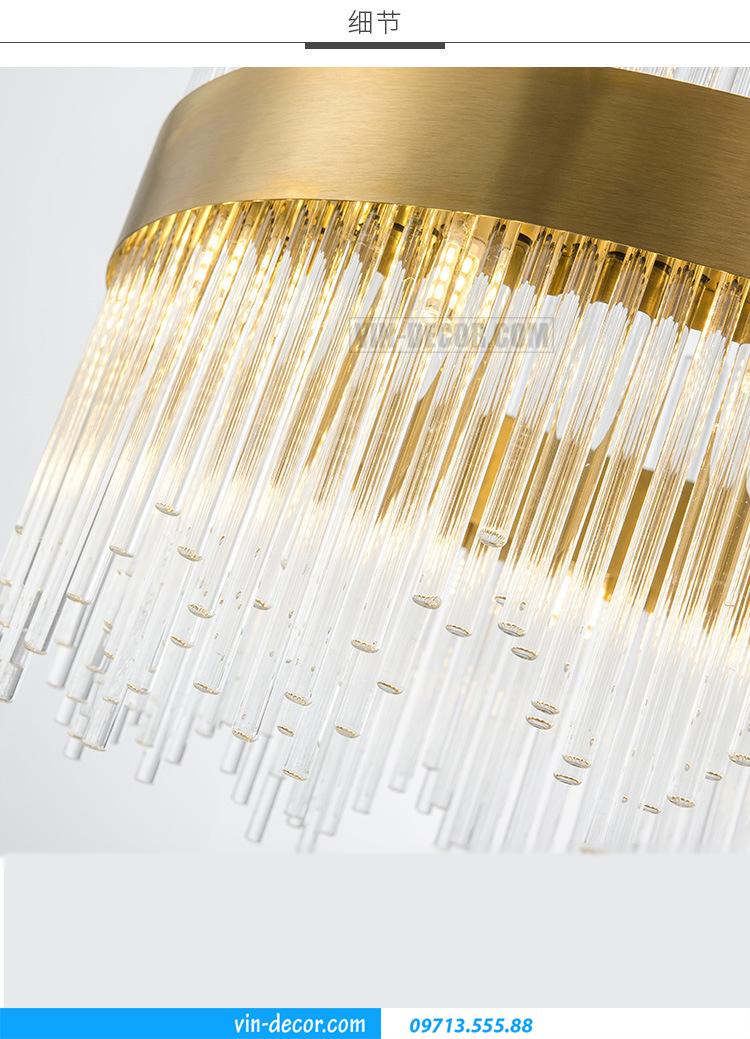 đèn cao cấp phòng khách MD 022 07