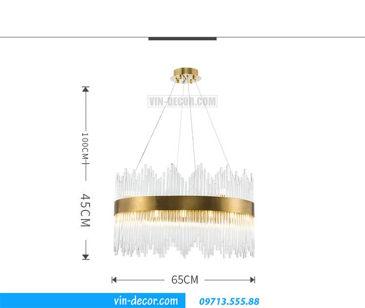 đèn cao cấp phòng khách MD 022 09