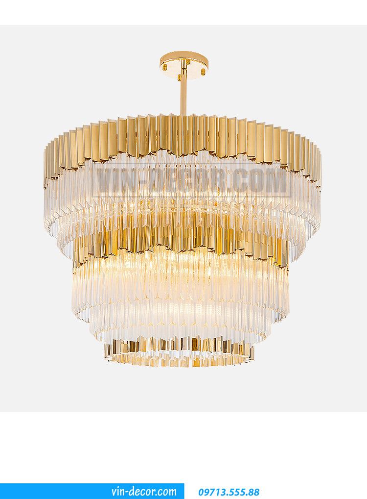 đèn chùm cao cấp Châu Âu MD 010 06