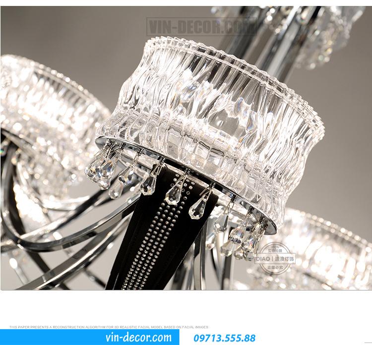 đèn chùm Châu Âu cao cấp MD 011 02