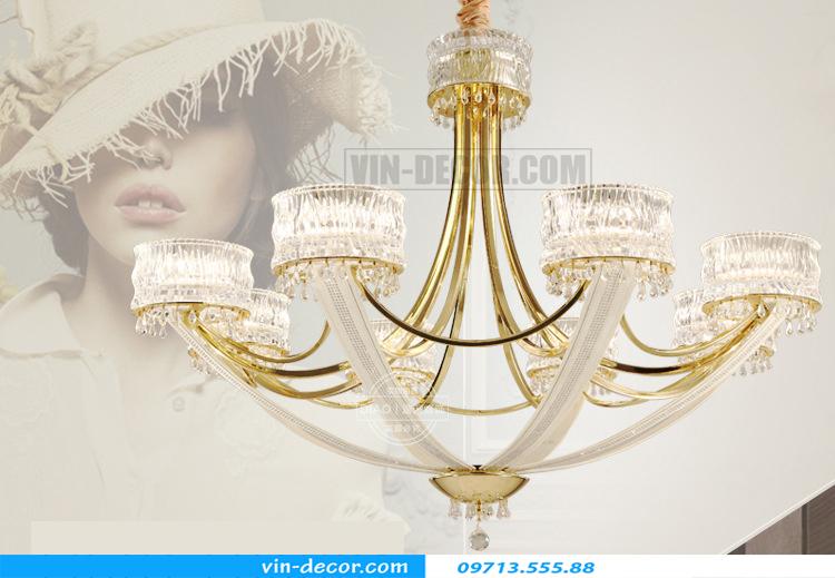 đèn chùm Châu Âu cao cấp MD 011 04