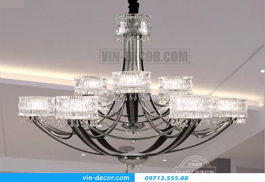 đèn chùm Châu Âu cao cấp MD 011 09