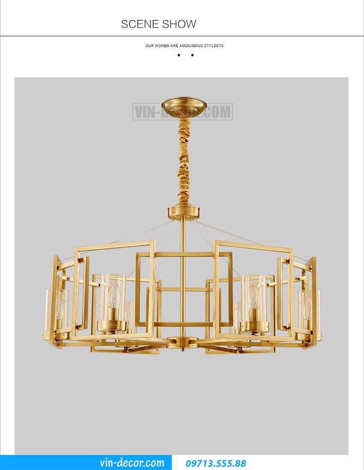 đèn chùm hiện đại MD 016 04