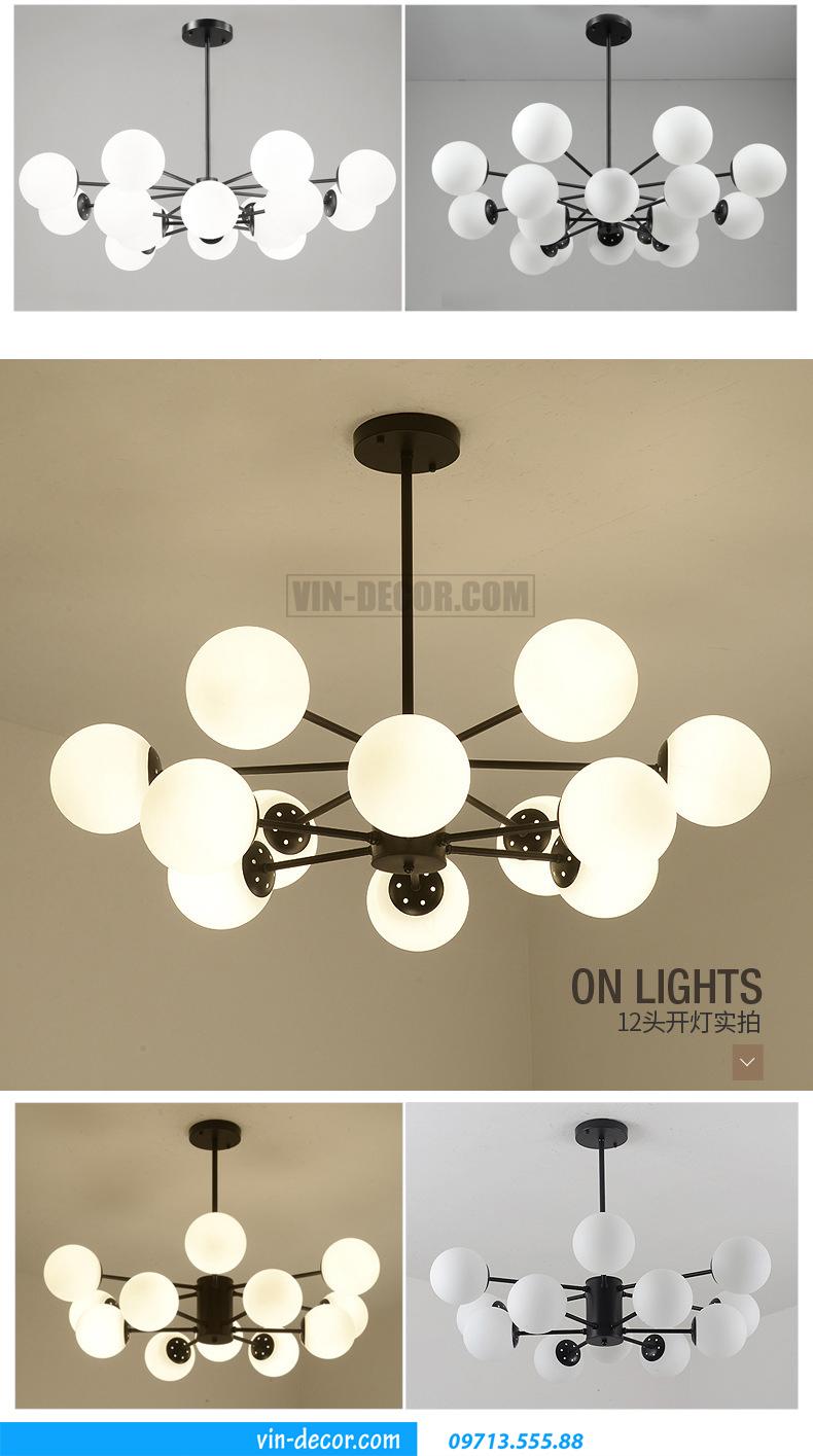 đèn chùm hiện đại MD 019 03
