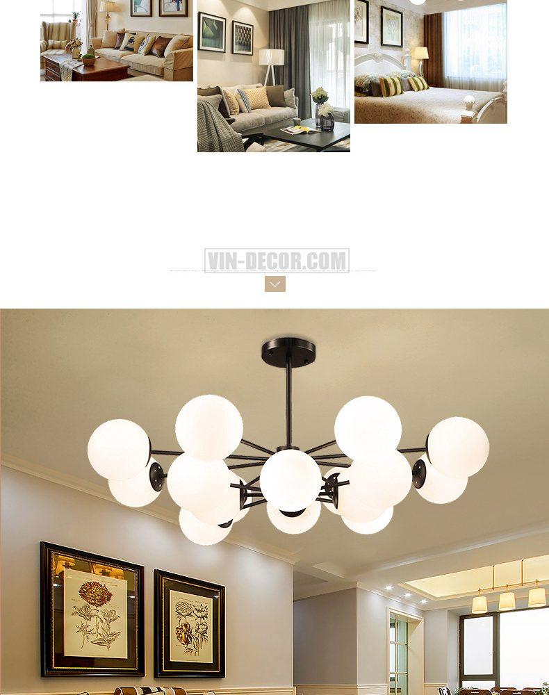 đèn chùm hiện đại MD 019 07