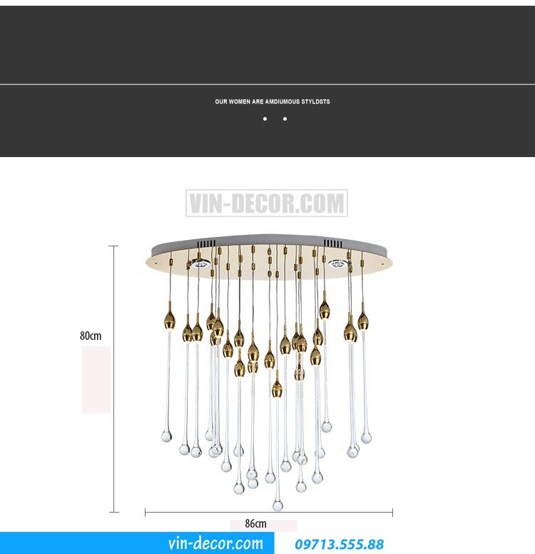 đèn chùm nghệ thuật MD 010 03