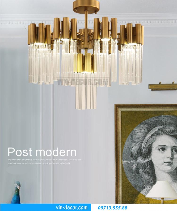 đèn chùm pha lê cao cấp MD 01