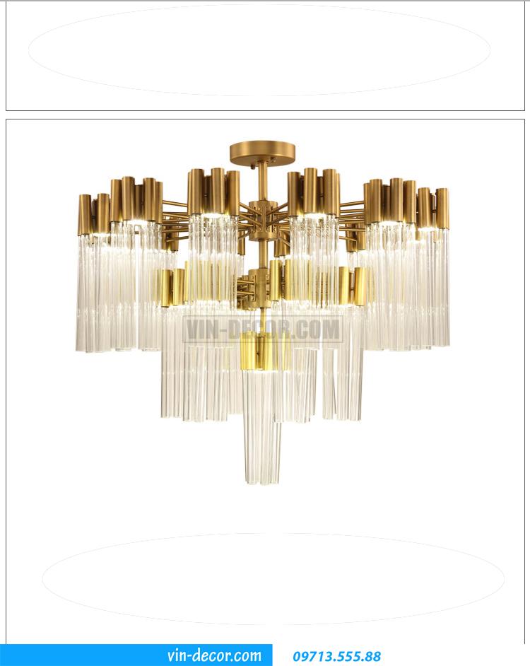 đèn chùm pha lê cao cấp MD 02