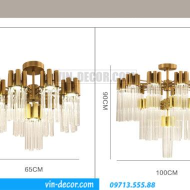 đèn chùm pha lê cao cấp MD 06
