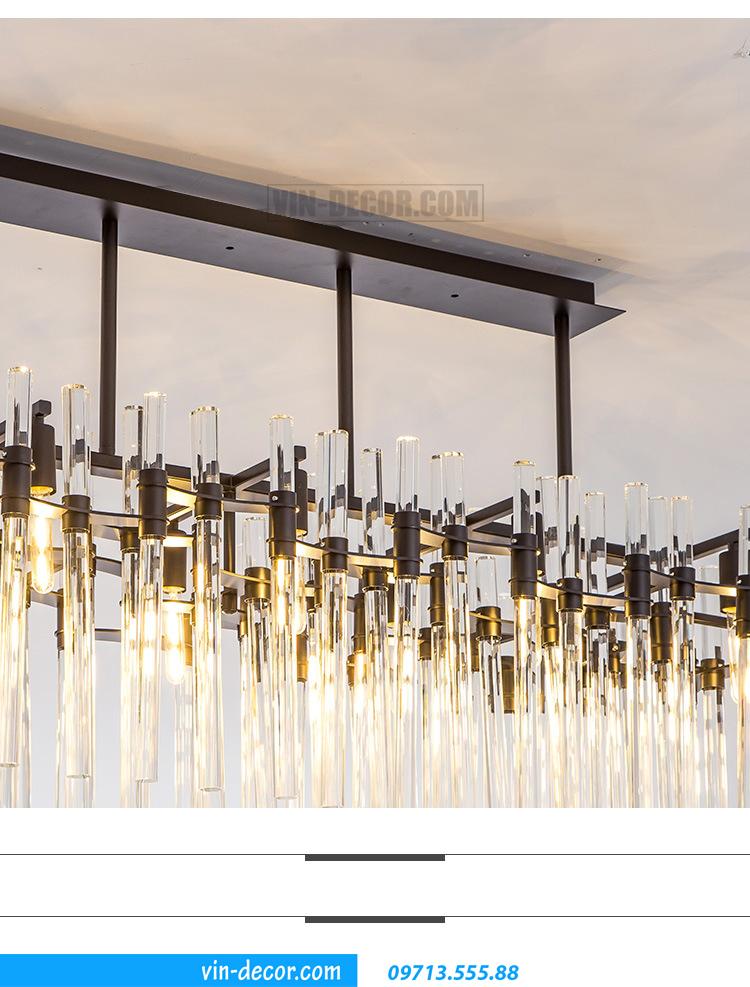 đèn chùm pha lê cao cấp MD 021 05