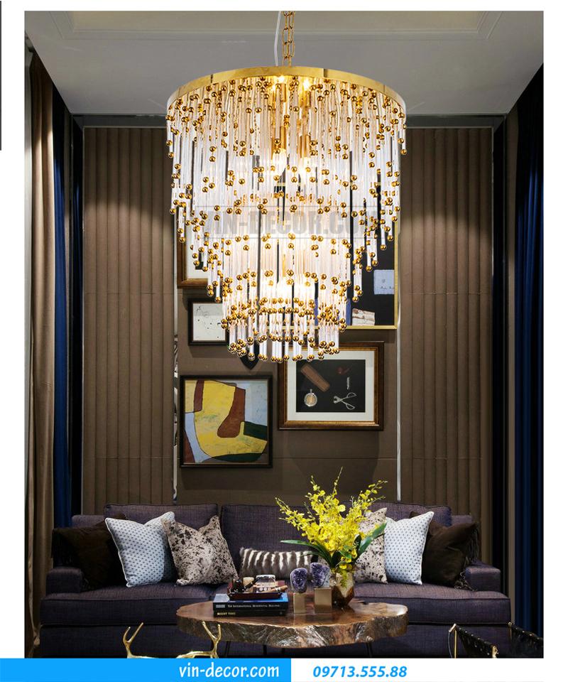 đèn chùm trang trí phòng khách MD 015 03