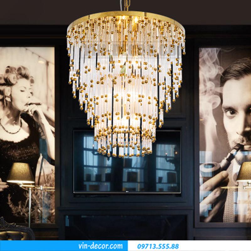 đèn chùm trang trí phòng khách MD 015 05