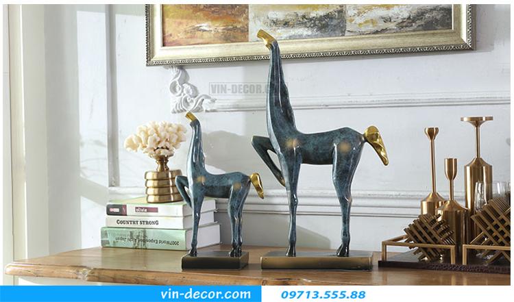 đồ decor ngựa độc đáo TD 013 06