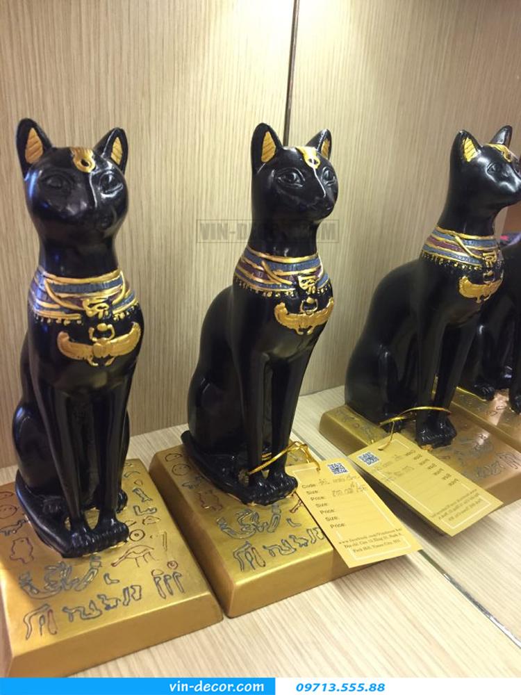 đôi mèo đen trang trí TD 015 02
