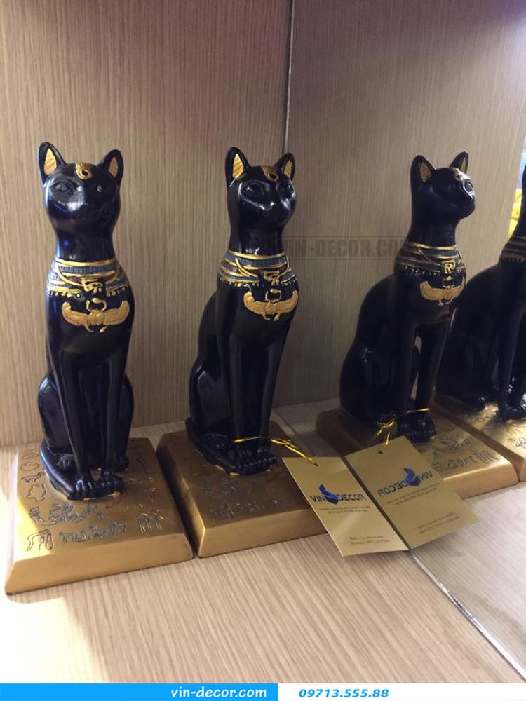 đôi mèo đen trang trí TD 015 03