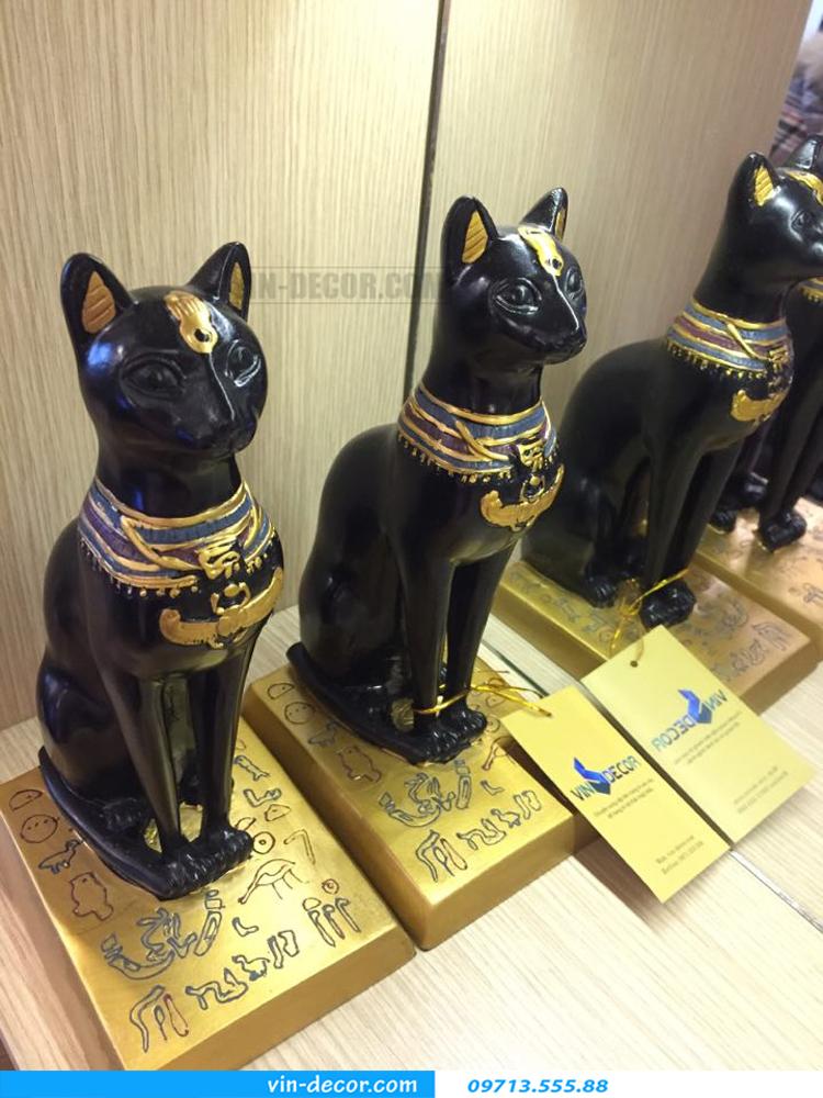 đôi mèo đen trang trí TD 015 04