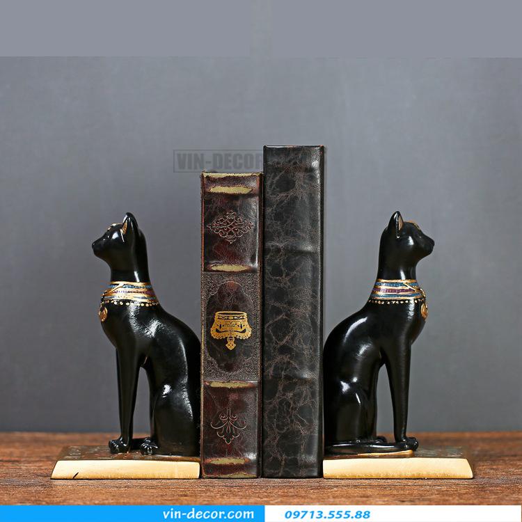 đôi mèo đen trang trí TD 015 07