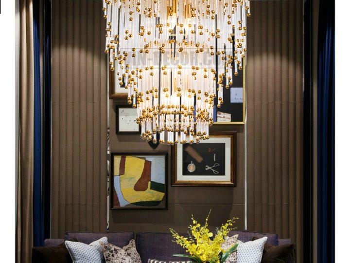 Tổng hợp các mẫu đèn trang trí nội thất chung cư ấn tượng, hiện đại