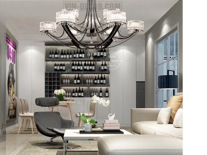 Tư vấn cách lựa chọn đèn trang trí nội thất chung cư cao cấp