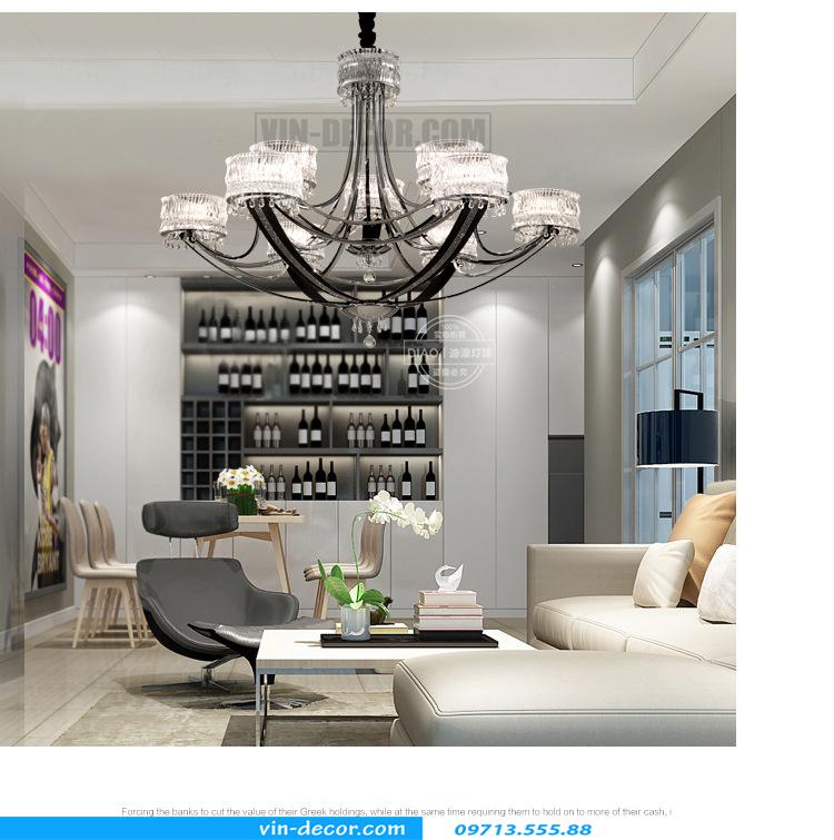 tư vấn cách lựa chọn đèn trang trí nội thất chung cư cao cấp 01