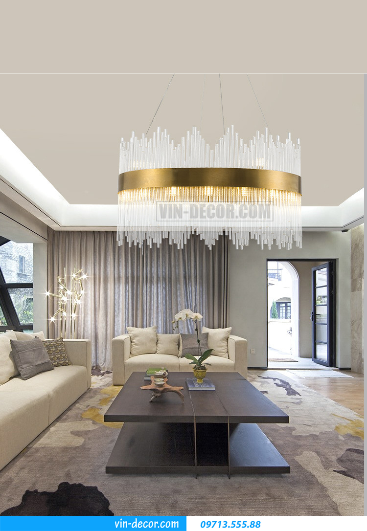 tư vấn lắp đặt chọn lựa đèn trang trí nội thất cho chung cư hiện đại 01