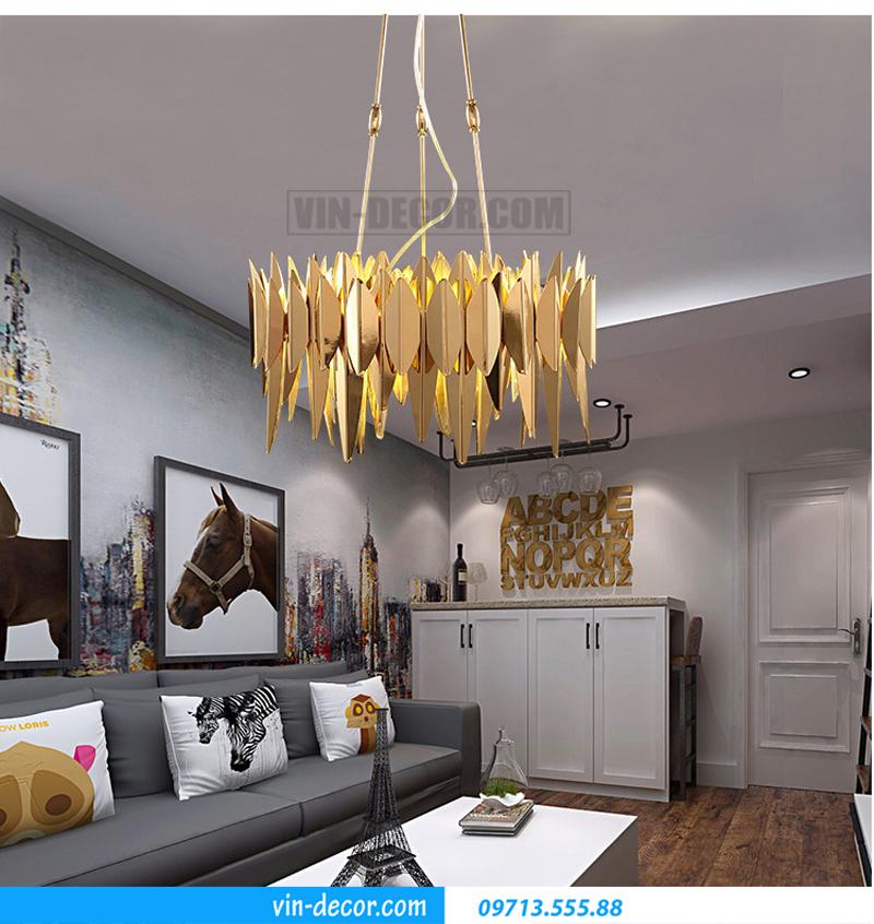 tư vấn lắp đặt chọn lựa đèn trang trí nội thất cho chung cư hiện đại 03