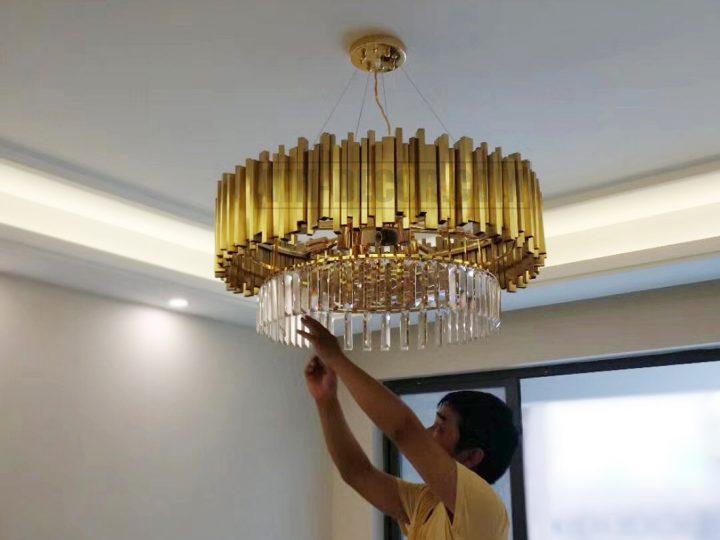 Tư vấn lắp đặt lựa chọn đèn trang trí nội thất cho chung cư