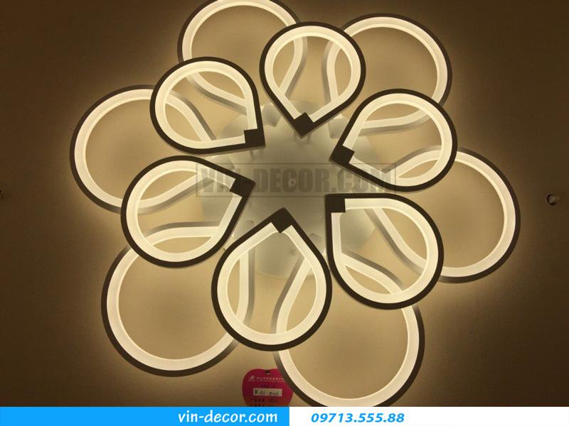 đèn led ốp trần trẻ chung md 1500