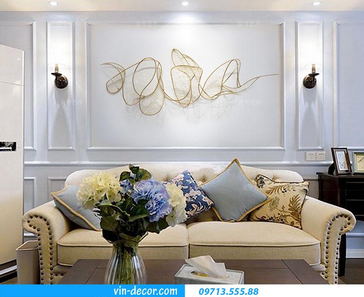 tranh decor treo phía sau Sofa TS 034 1