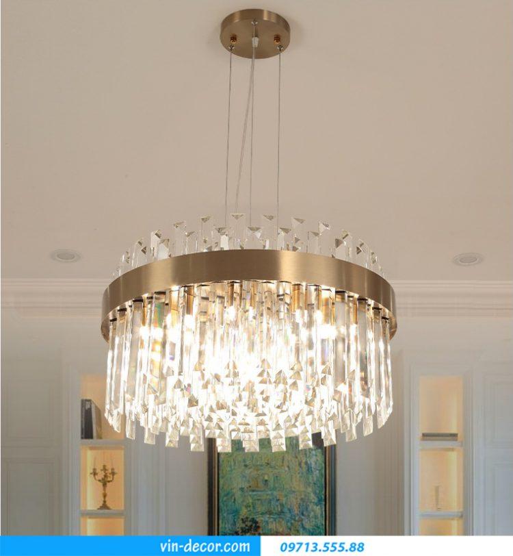 đèn pha lê cao cấp trang trí nội thất phòng khách MD 029 01