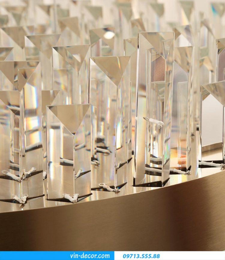 đèn pha lê cao cấp trang trí nội thất phòng khách MD 029 03