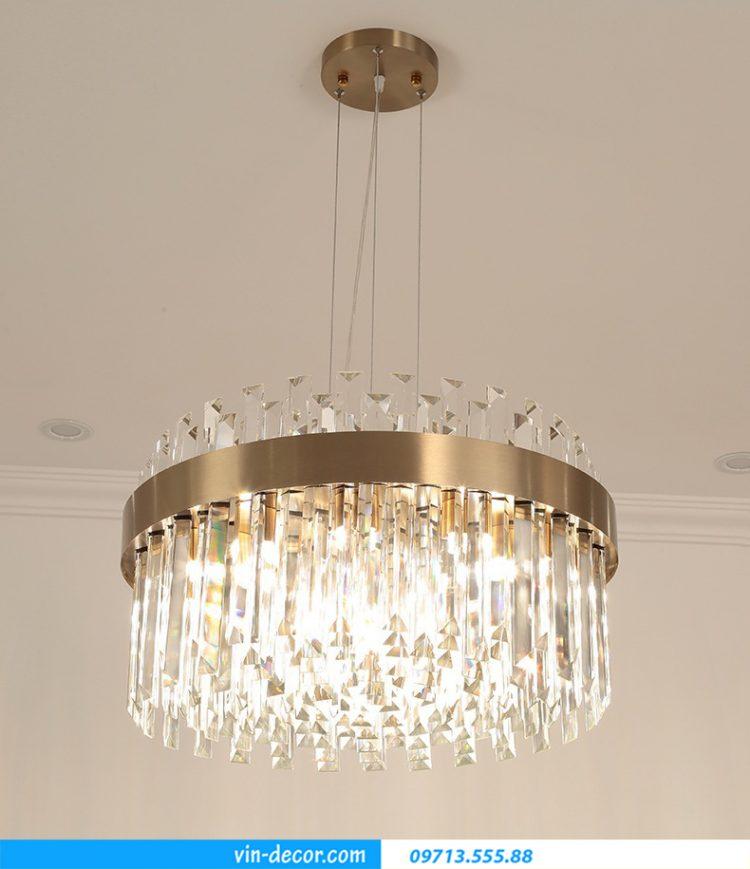 đèn pha lê cao cấp trang trí nội thất phòng khách MD 029 04