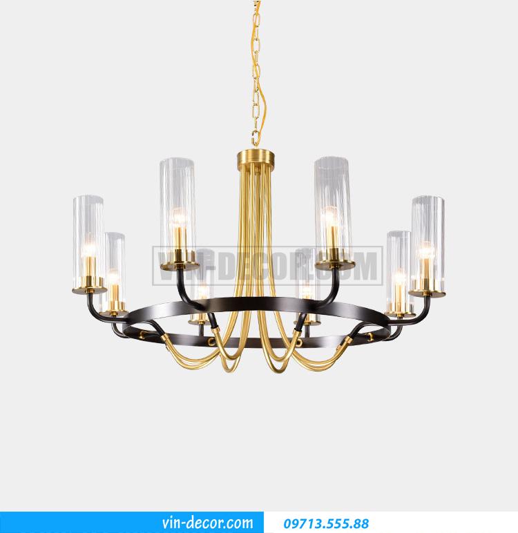 đèn chùm phòng khách pha lê tân cổ điển MD031 02