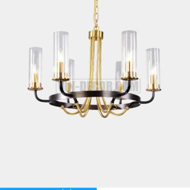 đèn chùm phòng khách pha lê tân cổ điển MD031 05