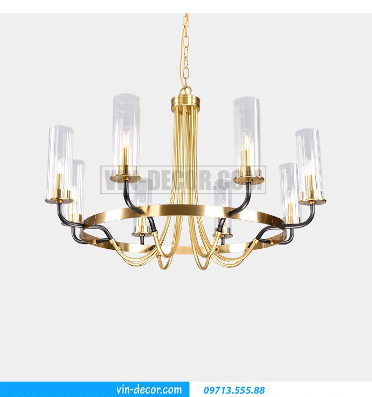 đèn chùm phòng khách pha lê tân cổ điển MD031 07