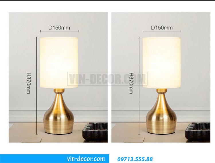 đèn bàn tab phòng ngủ MD041 2
