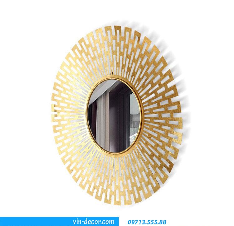 gương decor mặt trời MDU 002 6