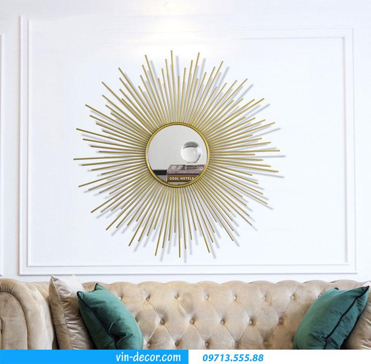 tranh gương decor phòng khách MDU 001 3