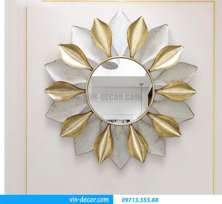 tranh sắt treo tường hoa ấn tượng MDU 005 4