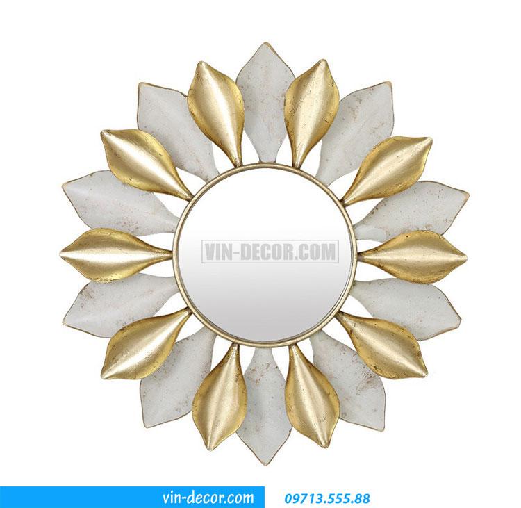 tranh sắt treo tường hoa ấn tượng MDU 005 5