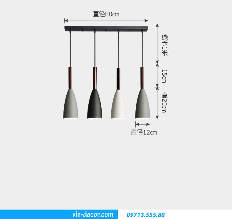 Đèn quầy bar trang trí hiện đại MDU 008 3