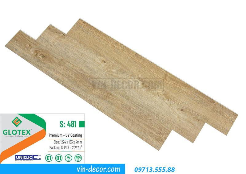 sàn nhựa cao cấp Glotex S481 01