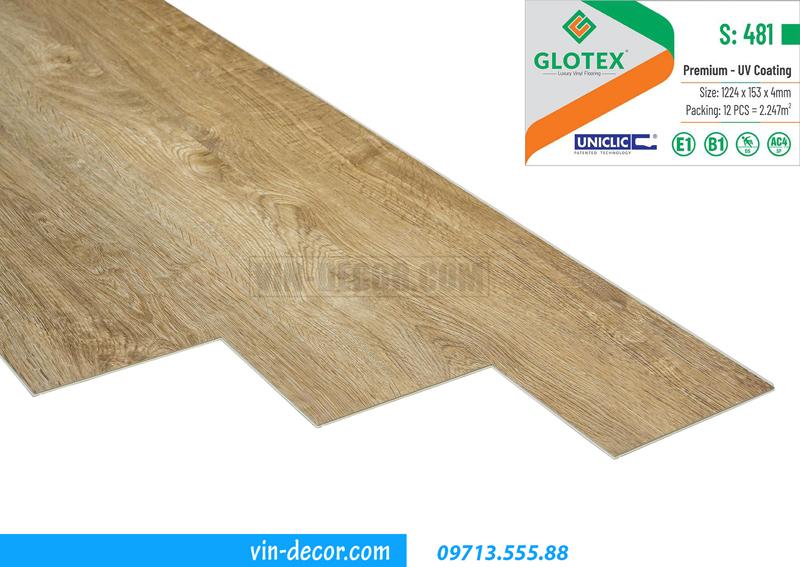 sàn nhựa cao cấp Glotex S481 02