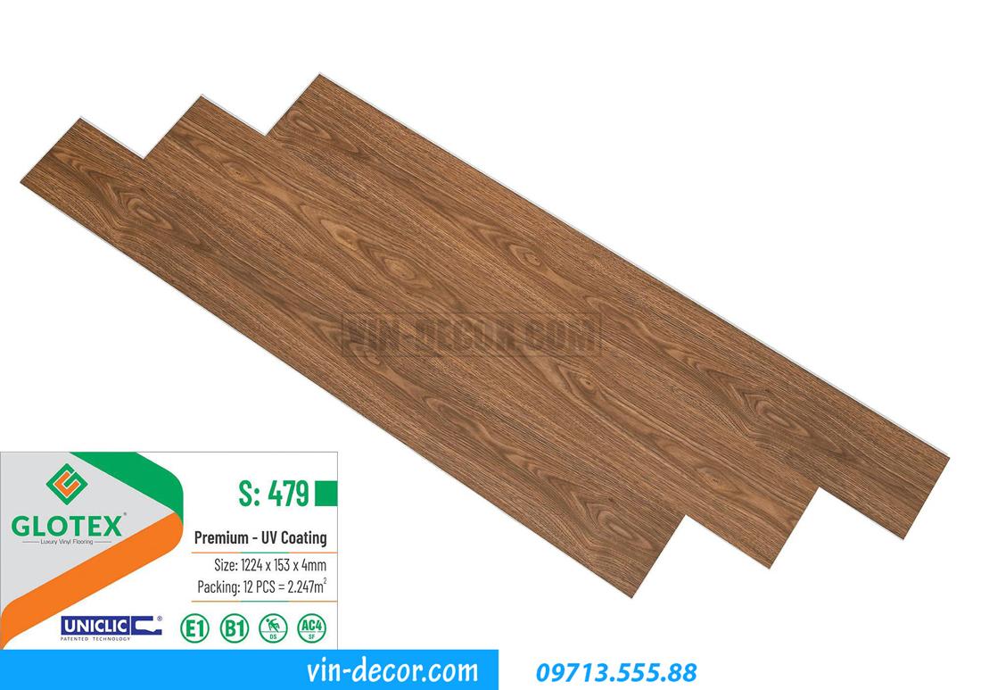 sàn nhựa Glotex 4mm S479 01