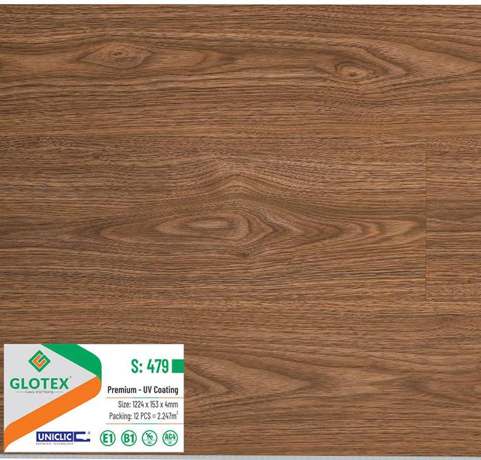 sàn nhựa Glotex 4mm S479