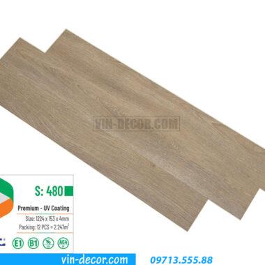 sàn nhựa Glotex cao cấp S480 1